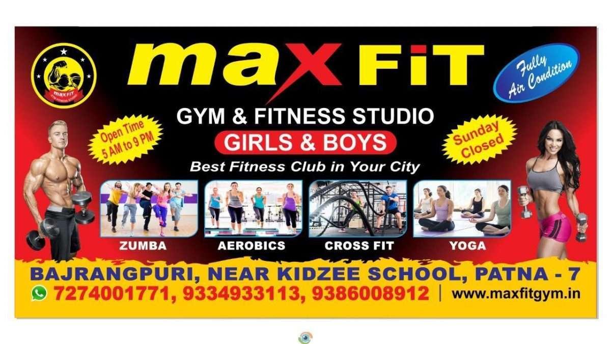 Max Fit Gym & Fitness Studio