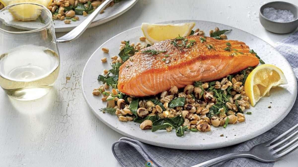 7 FOODS WILL HELP YOU SLEEP BETTER 6 Foods For Better Sleep SALMON