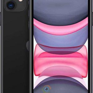 iPhone 11 2 iphone 11 128 gb black fron back