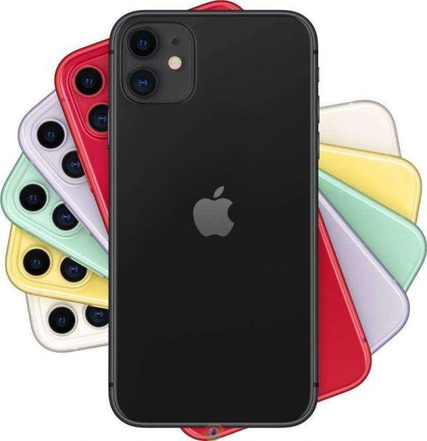 iPhone 11 4 iphone 11 128 gb black fron back all